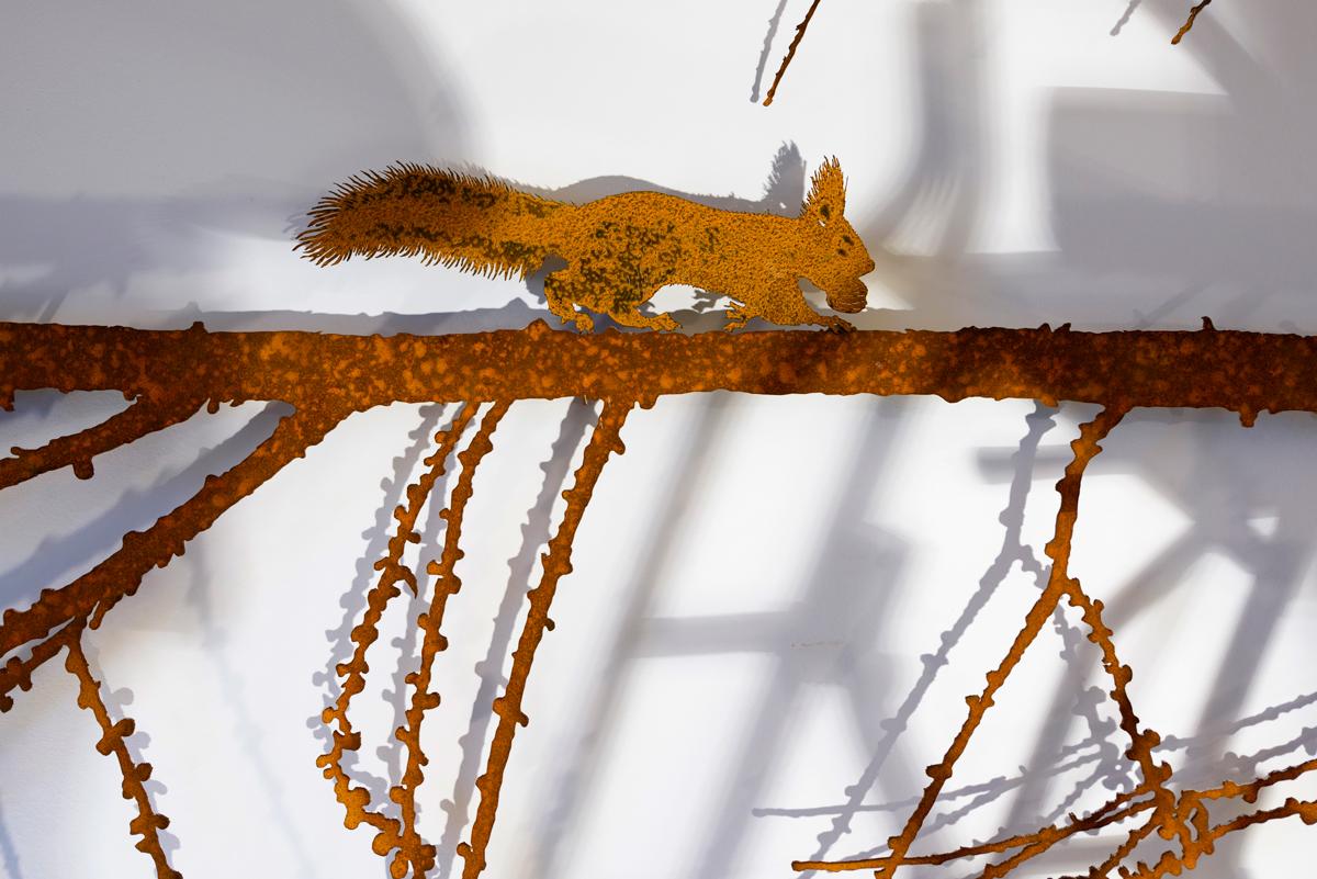 ÉCUREUIL scultura (foto di Nicola Dell'Aquila)