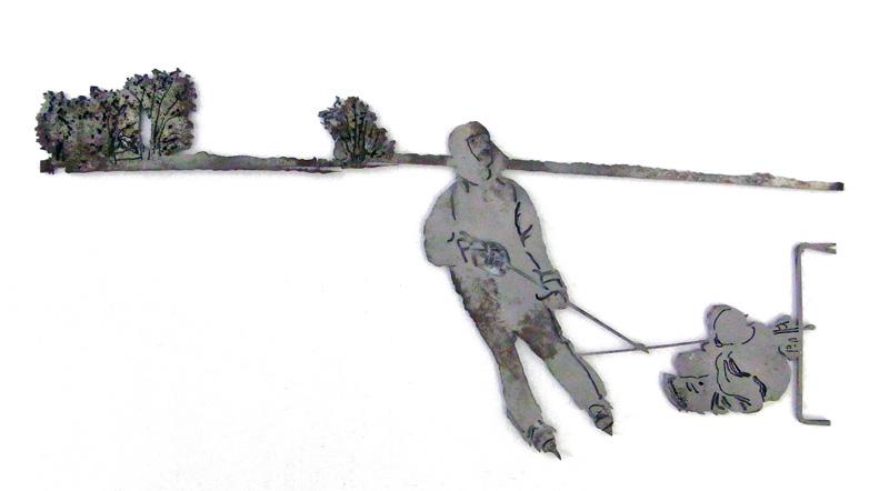 HURST scultura (foto di Nicola Dell'Aquila)