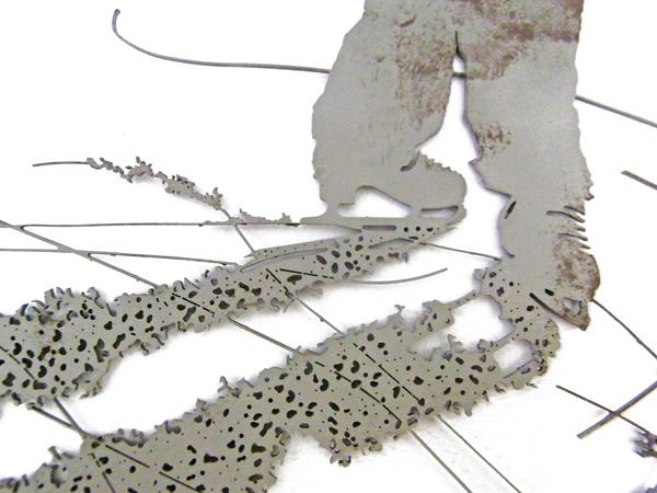 LAME scultura - dettaglio (foto di Nicola Dell'Aquila)