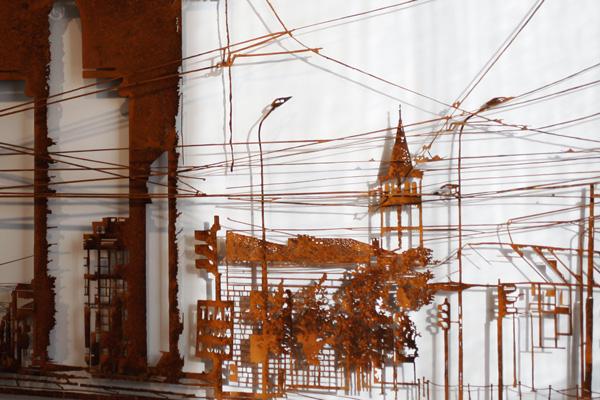 Paci Populorum Sospitae - dettaglio della scultura