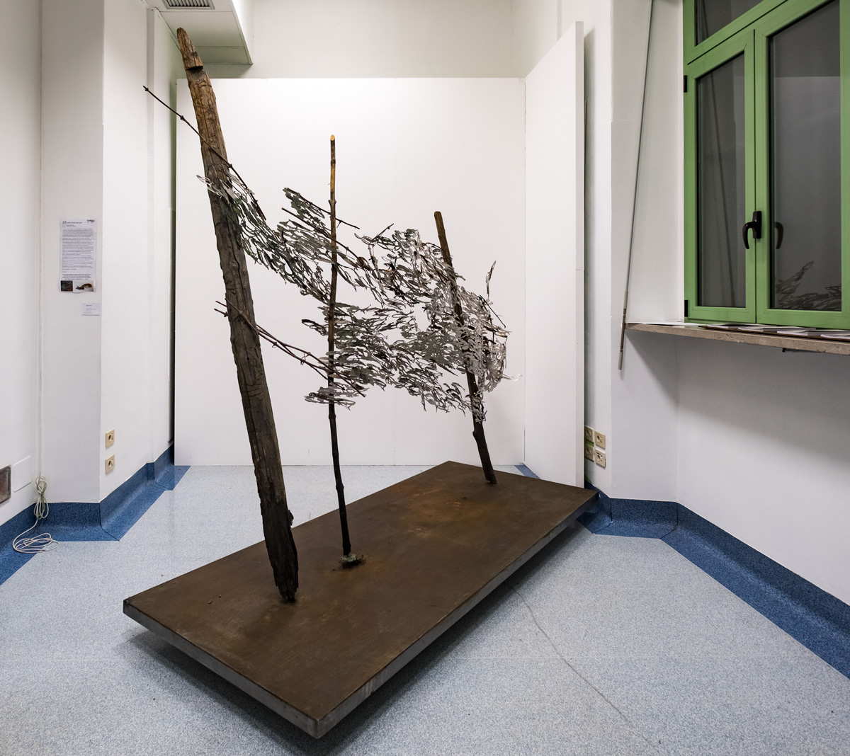 ATTRAVERSO, scultura (foto di Nicola Dell'Aquila)