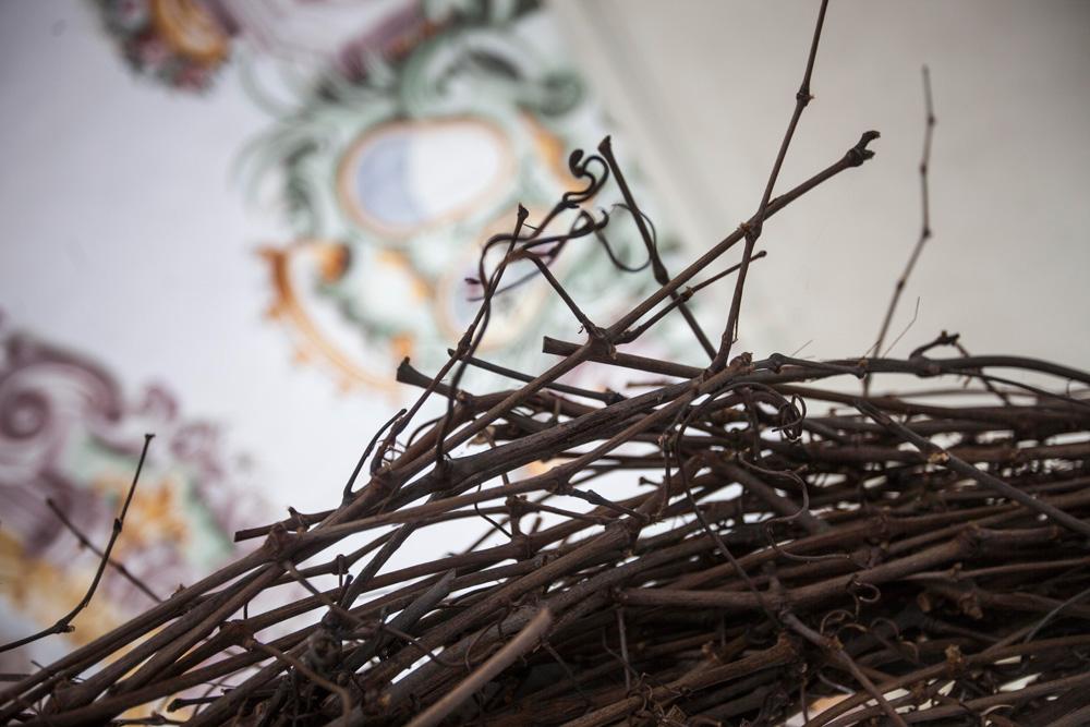 L'ONDA, dettaglio della scultura (foto di Nicola Dell'Aquila)