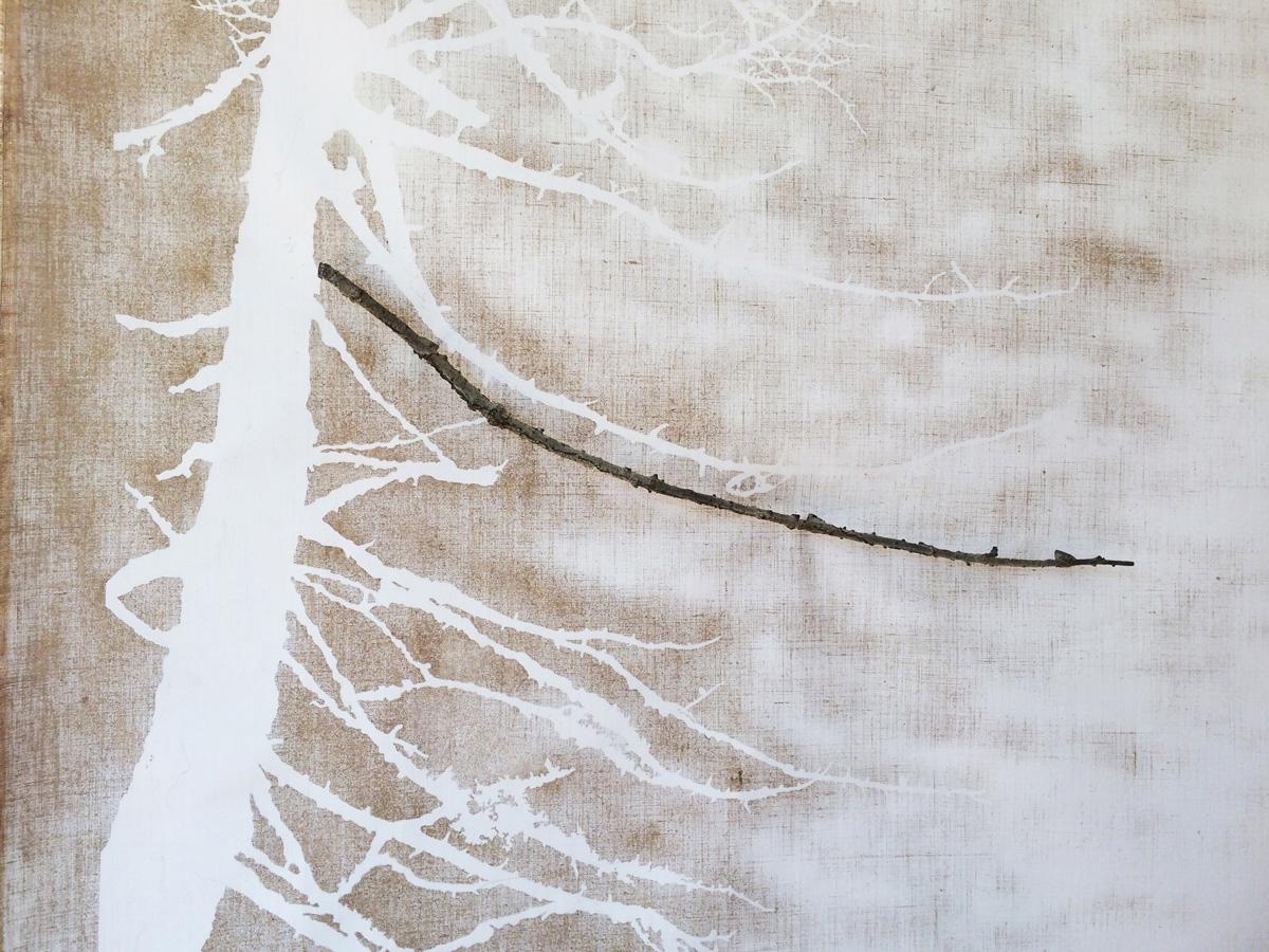 CHAMPORCHER,  dettaglio della scultura (foto di Nicola Dell'Aquila)