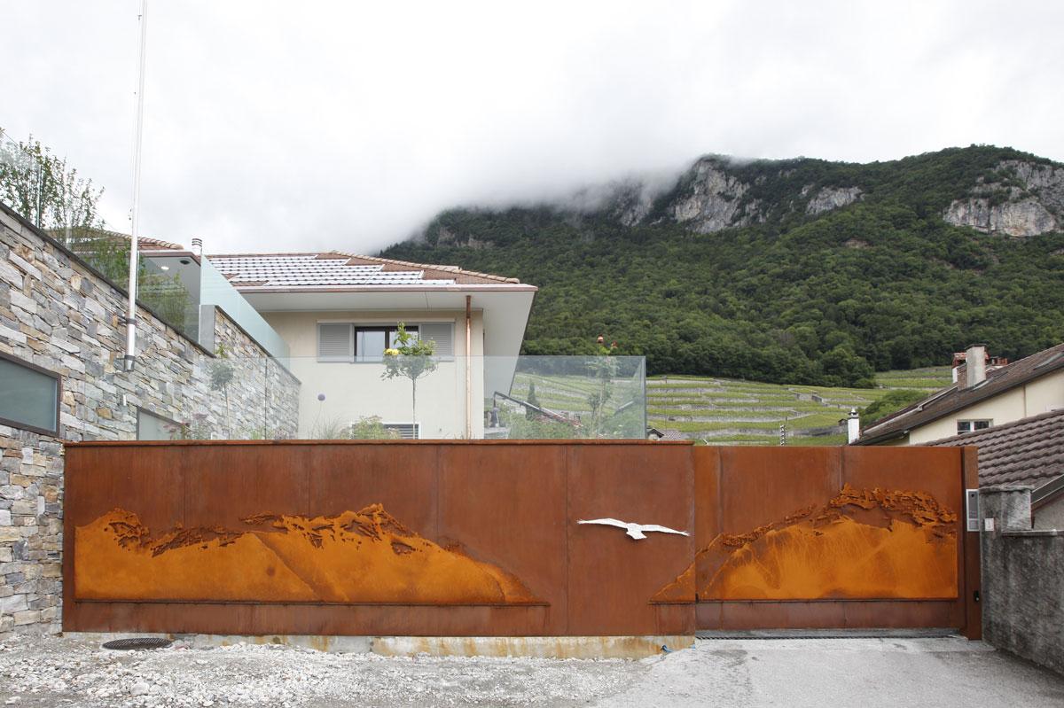 Cancello - Aigle